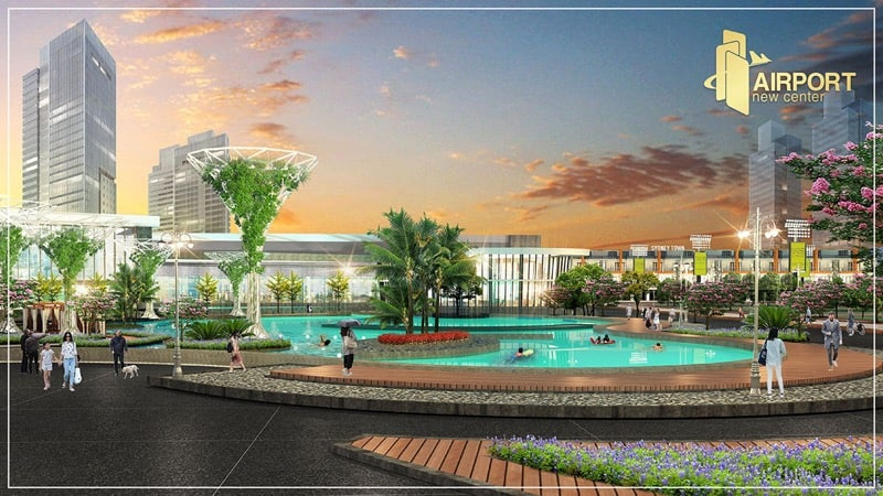 airport new center khu thể thao